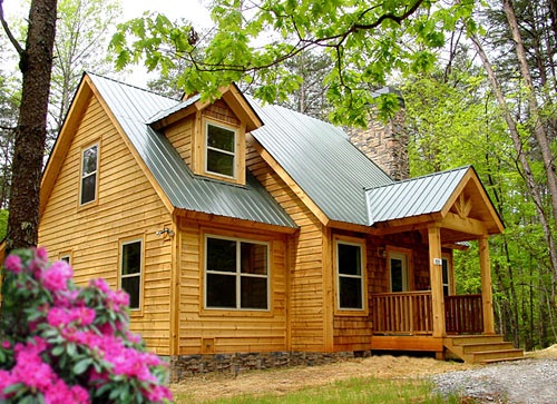 Newly constructed cabin for rent in the beautiful north for Rent a cabin in georgia mountains